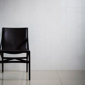 WHITE GLOSS WALL TILES