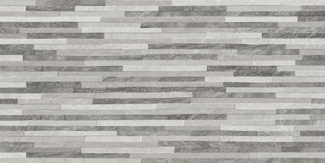 Azulev Direction Grey Slate Effect Ceramic Wall Tile
