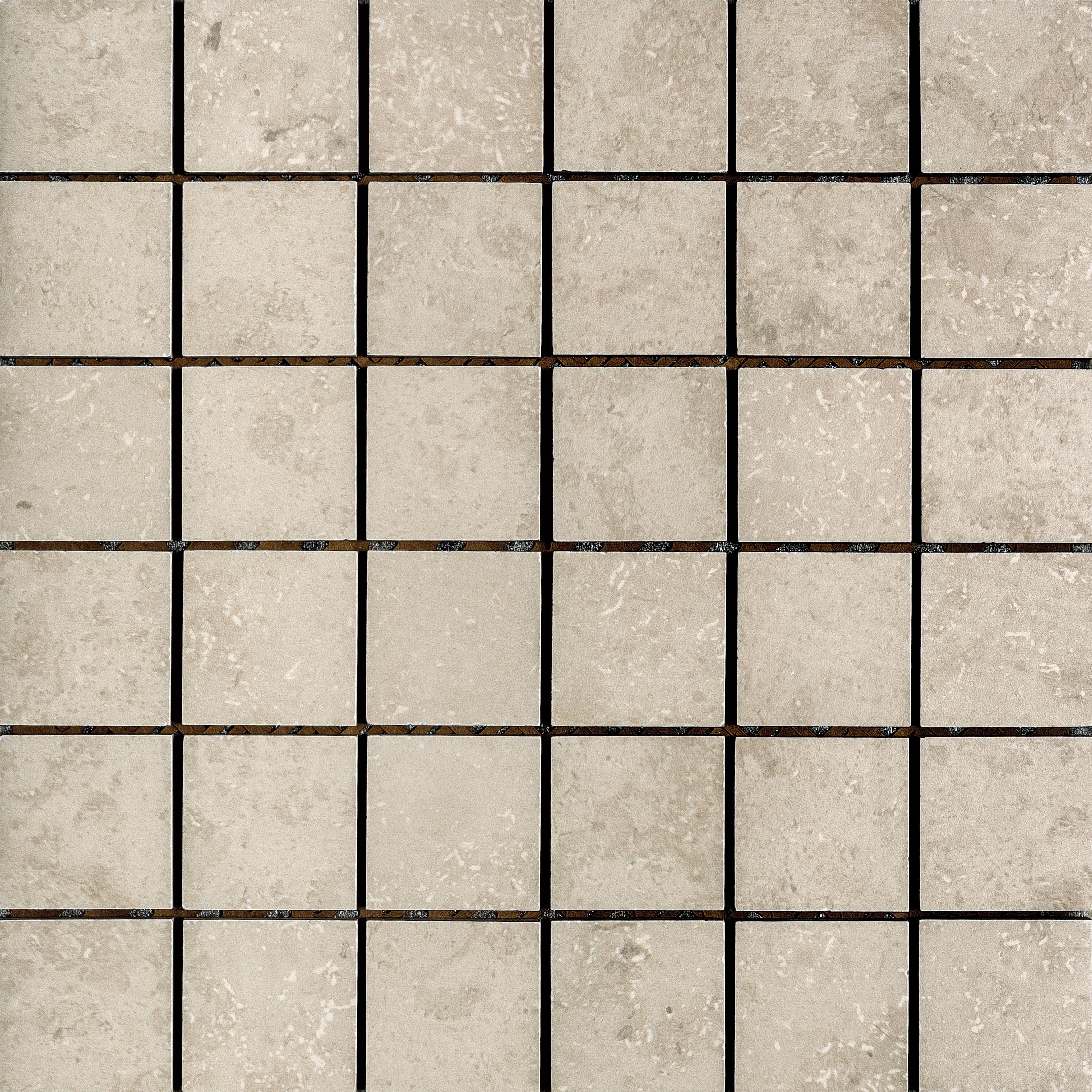 Azulev Fossil Stone Blanco Porcelain Mosaic (300x300mm)