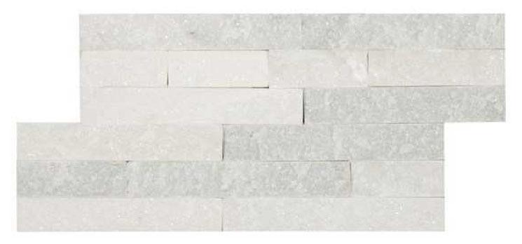 CR  HB Slate Series White Slate/Quartz Brick Piece (180x350mm)
