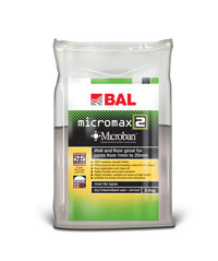 Bal Micromax 2 Ebony Tiling Grout For Walls & Floors 10kg
