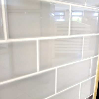 Johnson Savoy SAVO5A Brick Dew Gloss Ceramic Wall Tile (300x100mm)