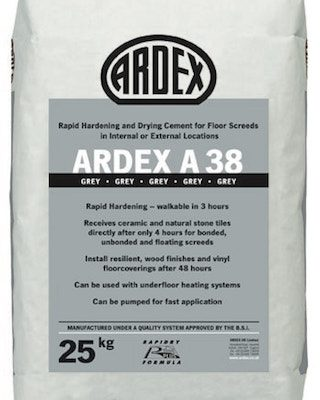 ARDEX A38 Rapid Hardening / Setting Cement 25kg 36145