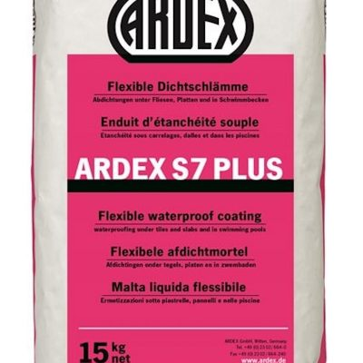 S7 Flex Waterproof Coating Ardex S7 Plus