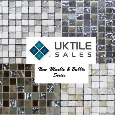 CR+ Marble & Bubble Glass Mosaic Series 305x305x8mm