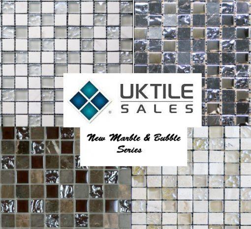 CR+ Marble & Bubble Glass Mosaic Series 305x305x8mm