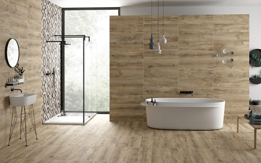North Wind Wood Series  Natural Beige Tiles