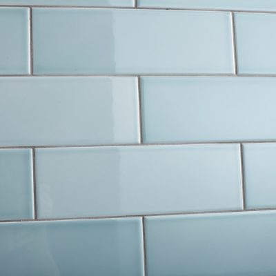 Johnson Savoy SAVO8A Brick Leaf Gloss Ceramic Wall Tile (300x100mm)