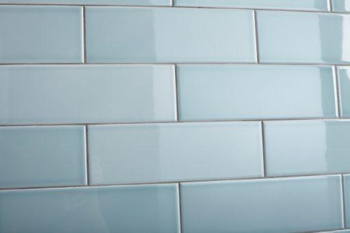 Johnson Savoy SAVO8A Brick Leaf Gloss Ceramic Wall Tile (300x100mm)