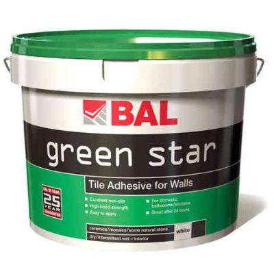 Bal Green Star Ready Mixed Tiling Adhesive