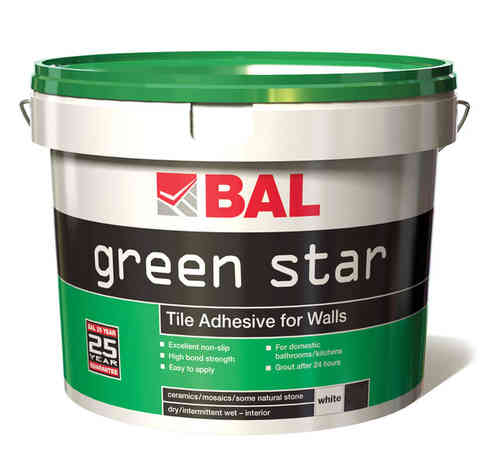 Bal Green Star Ready Mixed Tiling Adhesive