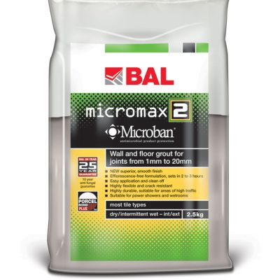 Bal Micromax 2 Cocoa Tiling Grout For Walls & Floors 2.5kg