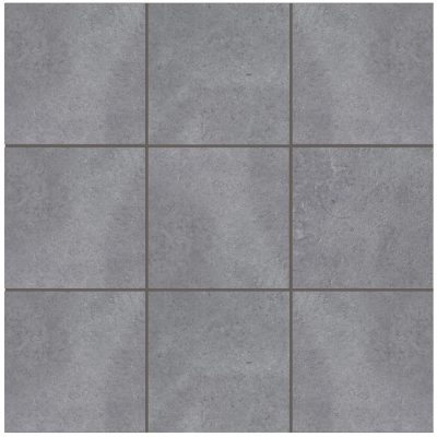 Grey Urban Steel Anti-Slip Mosaic Tile