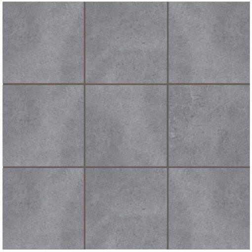 Grey Urban Steel Anti-Slip Mosaic Tile