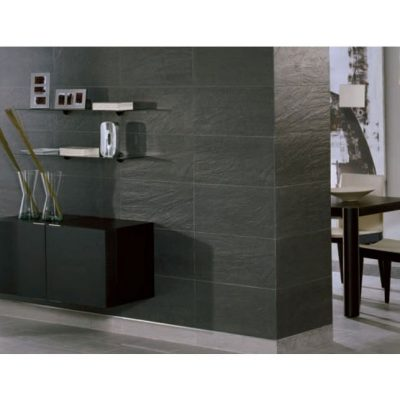 Colorker Pizarra Negro Black Rectified Porcelain Wall & Floor Tiles