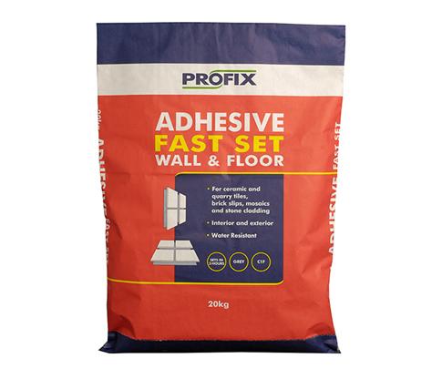 BAL Profix Fast Set Adhesive Grey  20kg