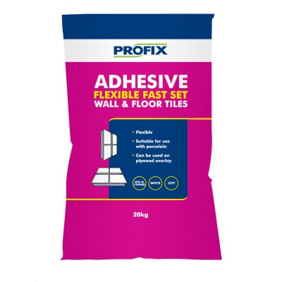 BAL Profix Flexible Fast Set Adhesive White  20kg