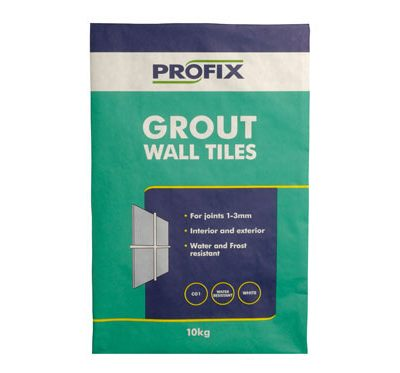 BAL Profix Wall Tile Grout White  10kg