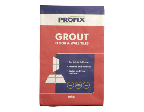 BAL Profix Floor & Wall Tile Grout Grey  10kg