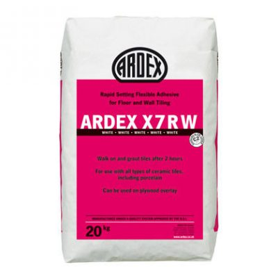 Ardex X7RW White Rapid Setting Flexible Adhesive  20kg