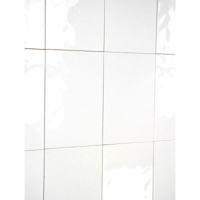 UK Tiles Value Bumpy Gloss White Ceramic Gloss