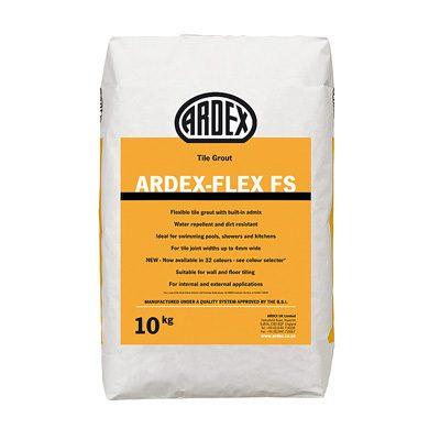 Ardex-Flex FS Flexible Tile Grout Brilliant White  10kg