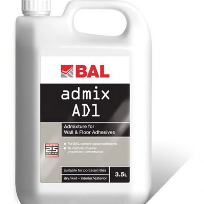 Bal Admix AD1 Admixture for Wall and Floor Adhesives 3.5ltr