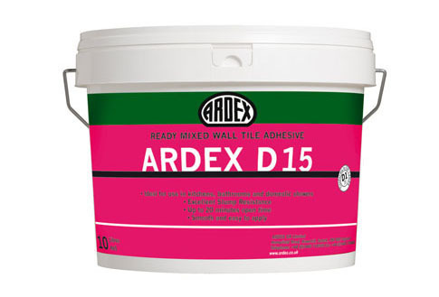 Ardex D15 Ready Mixed Wall Tile Adhesive  10ltr