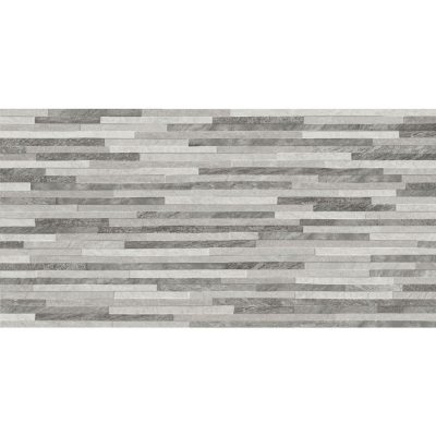 Azulev Direction Grey Slate-Effect Ceramic Wall Tile