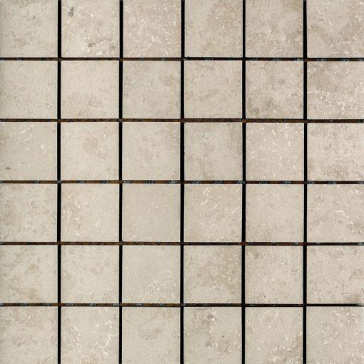 Azulev Fossil Stone Blanco Porcelain Mosaic tiles