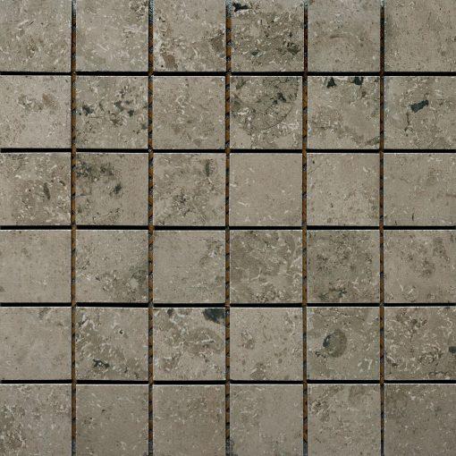 Azulev Fossil Stone Gris Porcelain Mosaic  tiles
