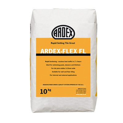Ardex-Flex FL Rapid Set Flex Cement Grout Brilliant White  10kg