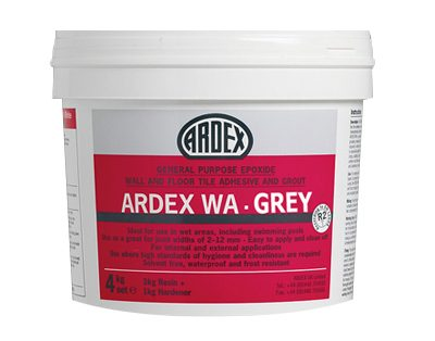 Ardex WA Epoxide Adhesive & Grout Grey