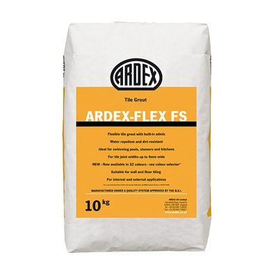 Ardex-Flex FS Flexible Tile Grout Winter White  10kg