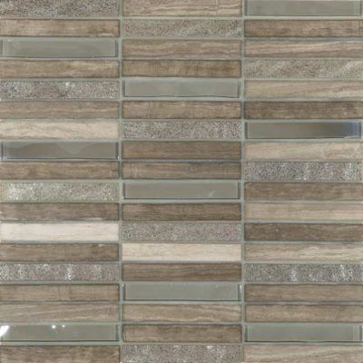 Skyline Marble Glass Mix Grey  tiles