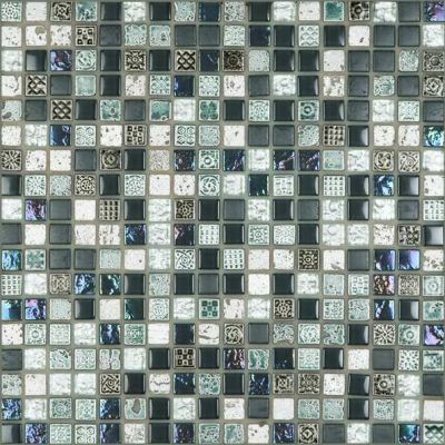 No tags	CE Decor Series Grey Marble Glass Mosaic tiles