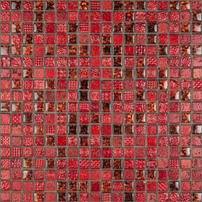 No tags	CE Decor Series Red Marble Glass Mosaic tiles