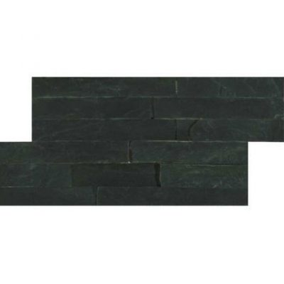 HB Slate Series Black Mosaic Brick Piece