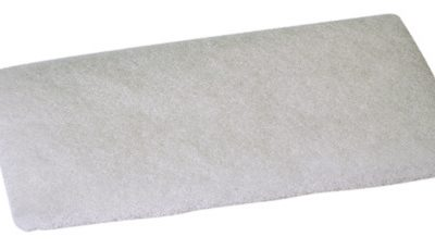 Genesis  120x240mm Cleaning Pad White (Fine)