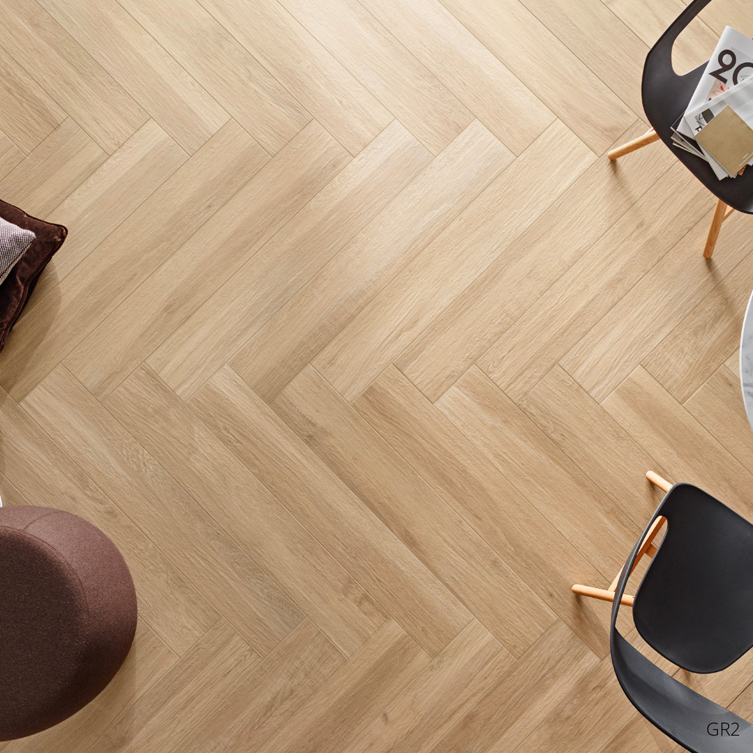 Wood Effect Porcelain Floor Tiles >> Grove Series Wood Effect Beige Porcelain Floor Tiles 1200x200mm