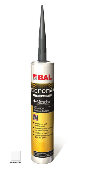 Bal Micromax Gunmetal Finishing Sealant 310ml