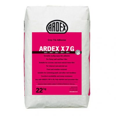 Ardex X7G Grey Flexible Tile Adhesive  20kg