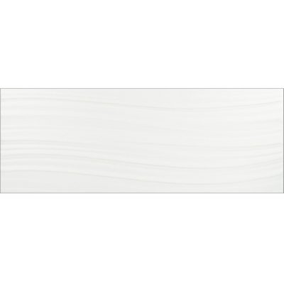 Johnson Wave White Matt Brick Ceramic Wall Tile