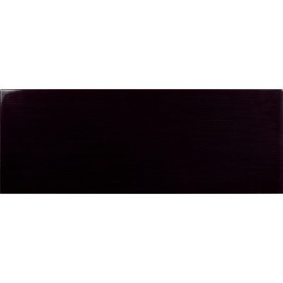 Johnson Vivid Black Gloss Brick Ceramic Wall Tile