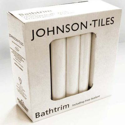 Johnson PRG 1 White Bath Trim Set