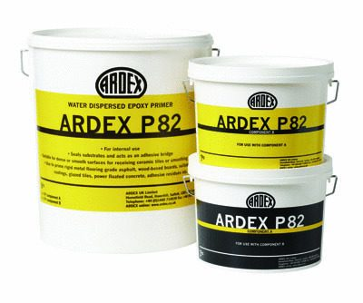 Ardex P82 Water Dispersed Epoxy Primer  6kg