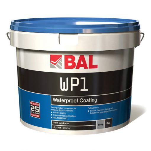 Bal WP1 Waterproof Coating for Walls & Floors