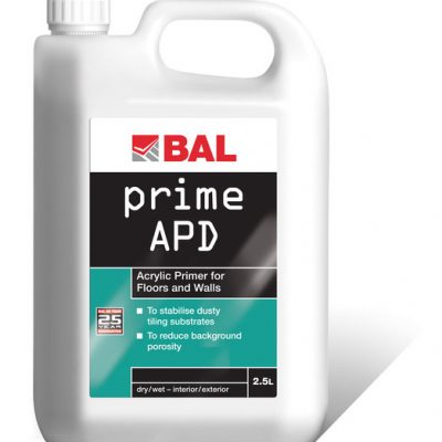 Bal Acrylic Primer for Walls & Floors 2.5ltr
