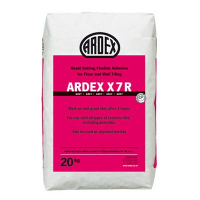 Ardex X7R Grey Rapid Setting Flexible Adhesive  20kg