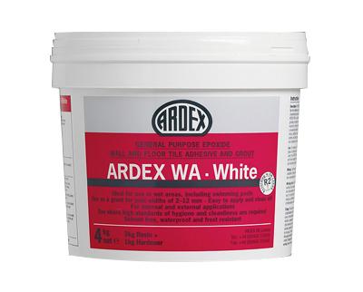 Ardex WA Epoxide Adhesive & Grout White- 4kg